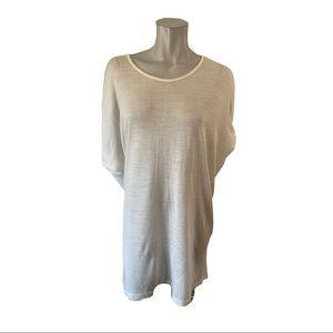Vero Moda Oversized Cream Tunic Sweater Size M/L